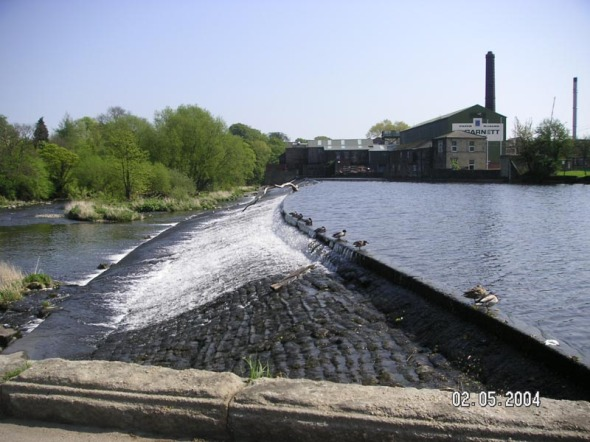The Weir in Otley