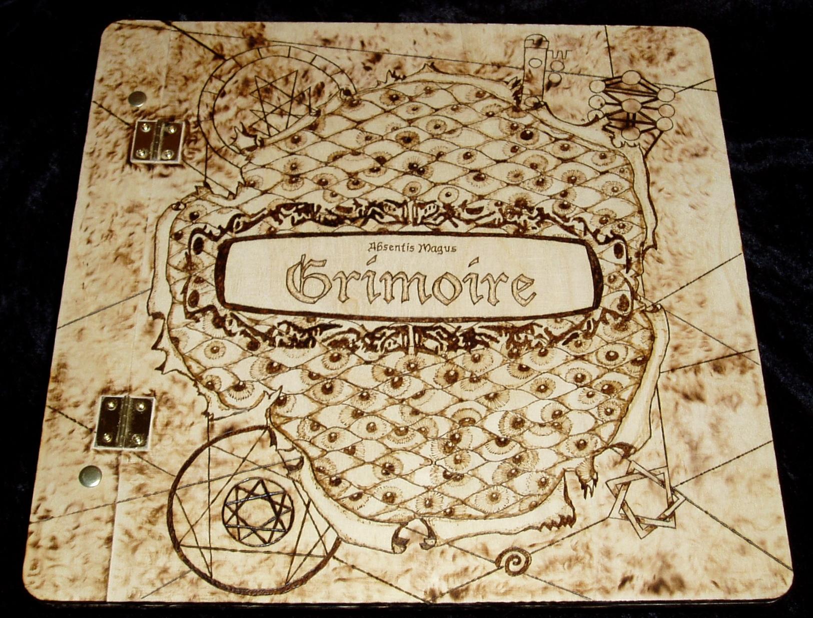 Grimoire Book