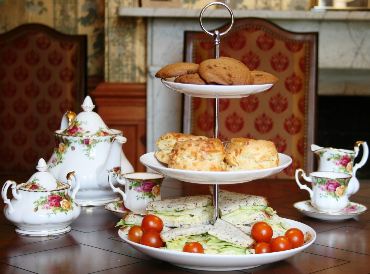 Afternoon Tea Kate Shrewsday