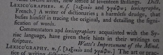 lexicographer