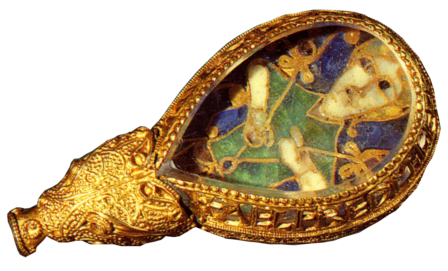 king jewel The alfred jewel is a piece of anglo-saxon goldsmithing work made of enamel and quartz enclosed in gold it was discovered in 1693, in north petherton , somerset , england and is now one of the most popular exhibits at the ashmolean museum in oxford.
