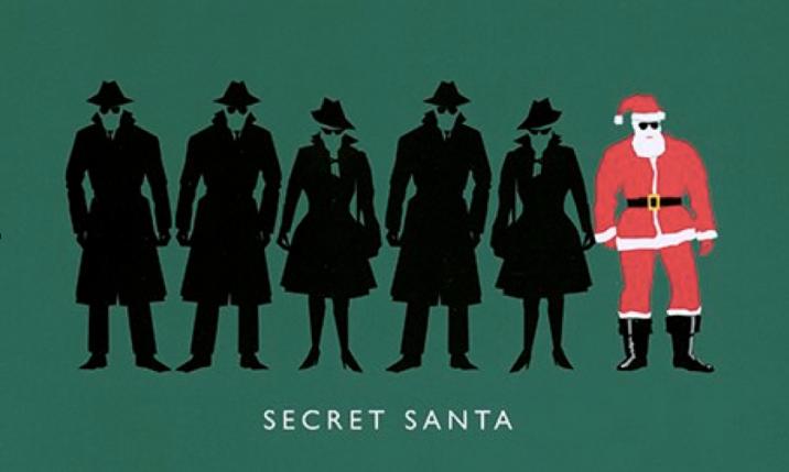 Christmas card of Sr John Sawers, Chief of Secret Intelligence Services, aka MI6