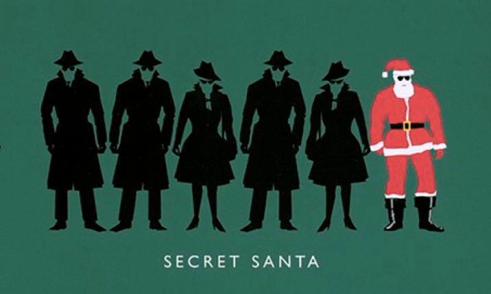 Christmas card of Sr John Sawers, Chief of Secret Intelligence Services, aka MI6