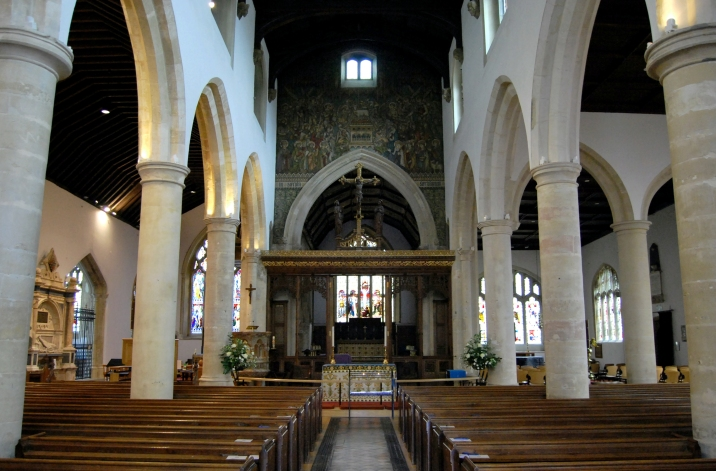 Photo of St Mary The Virgin, Henley, via Wikipedia