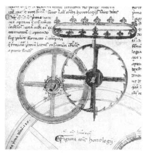Picture from gem of a book: God's Clockmaker: Richard of Wallingford and the Invention of Time by John David North