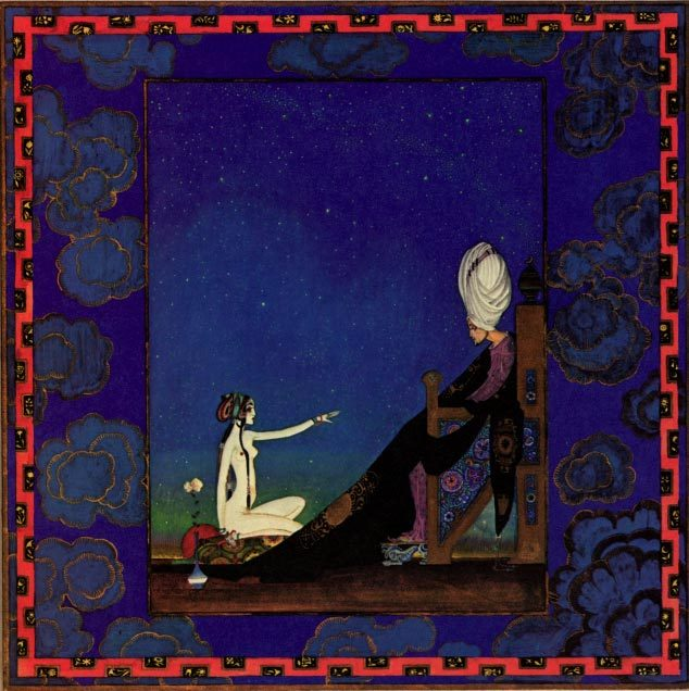 The-Sultan-and-Scheherazade